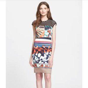 Clover Canyon Neoprene Bodycon Sleeveless Dress S